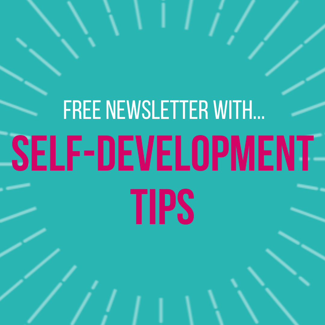Free newsletter with self-development tips